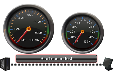 Click to open Broadband Speed Checker